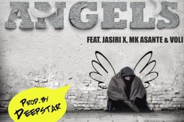 AWKWORD Drops New Single - Angels Ft. Jasiri X, MK Asante & Voli (Prod. By Deepstar The Abyss Dwella)