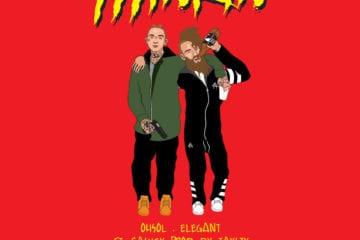 "New Single By OhSol.ELEGANT - ""THINKIN"" Ft. Caskey (Prod. By Taysty)"