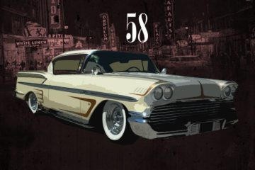 New Instrumental Album By Jakk Wonders - Fifty Eight Impala