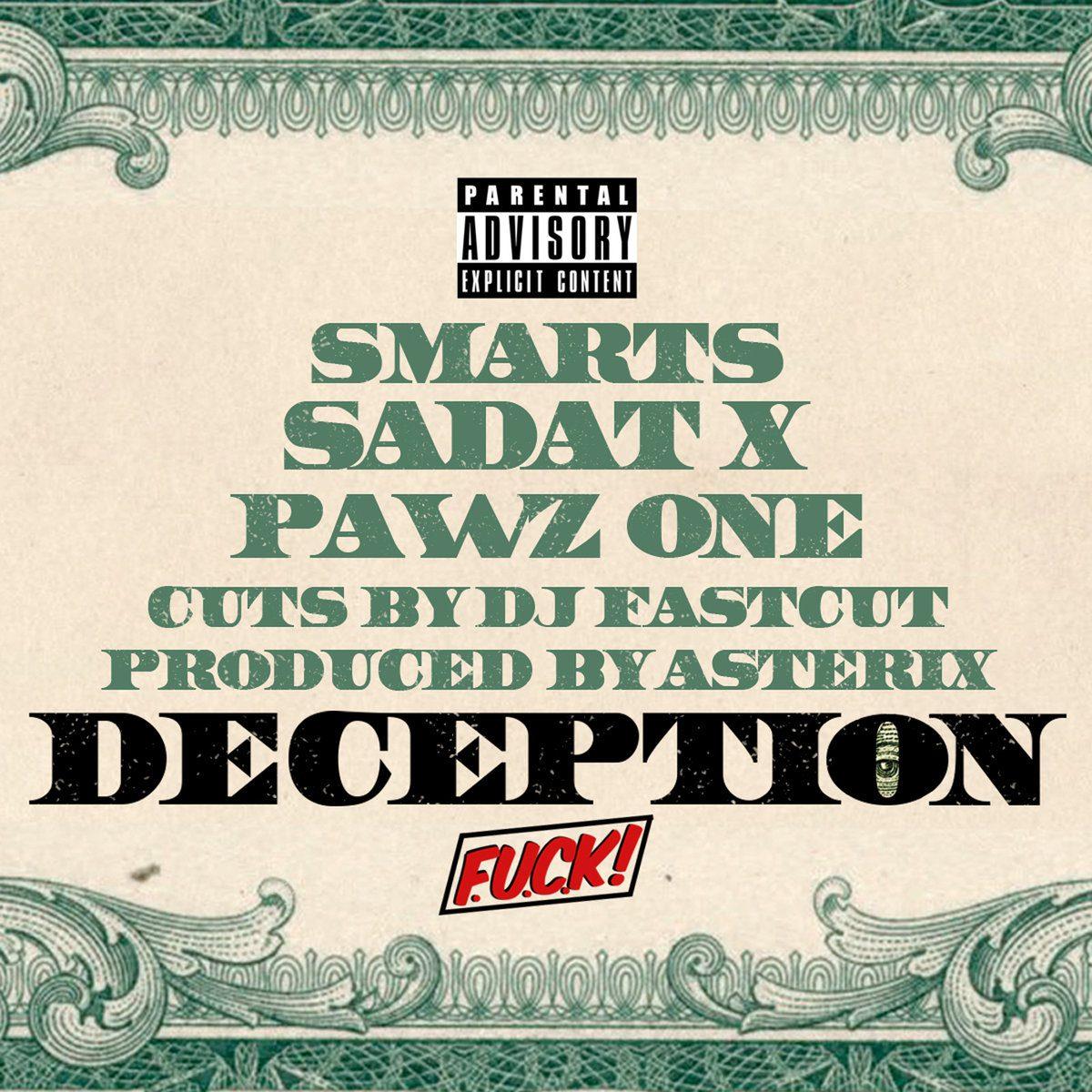 """Pawz One – """"Deception"""" Ft. Sadat X & Smarts (Prod. By Asterix)"""