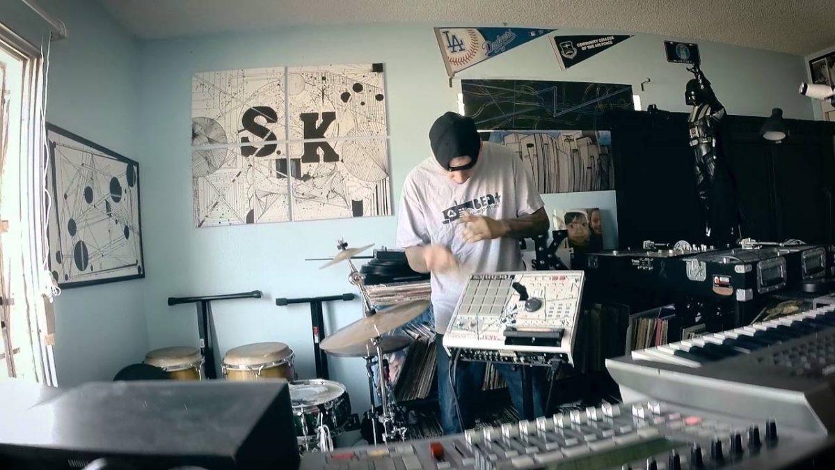 S.K.ill - Its All Live MPC2000xl Live Beat (Video)