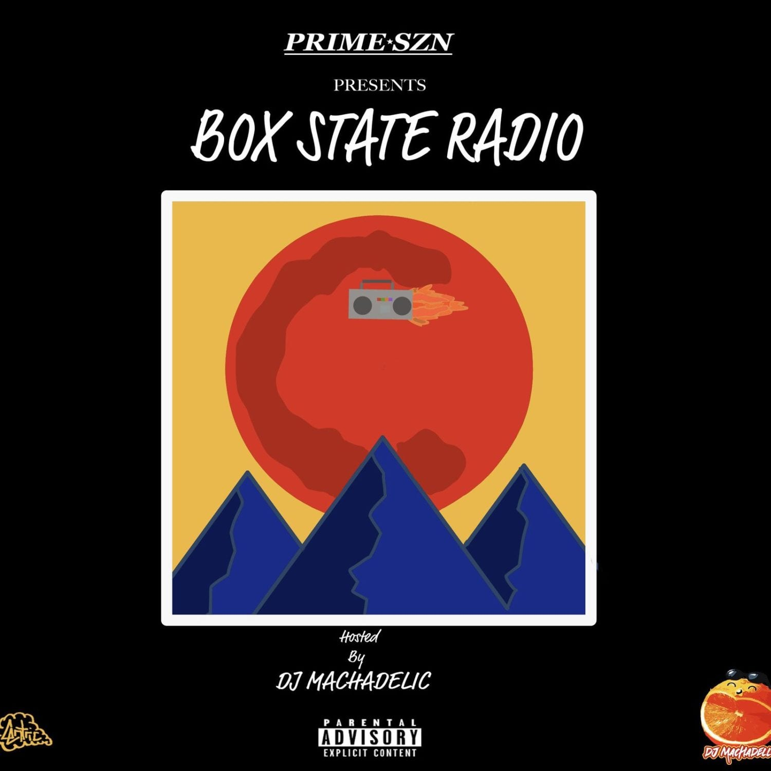 "New Mixtape By DJ Machadellic - ""Box State Radio"""
