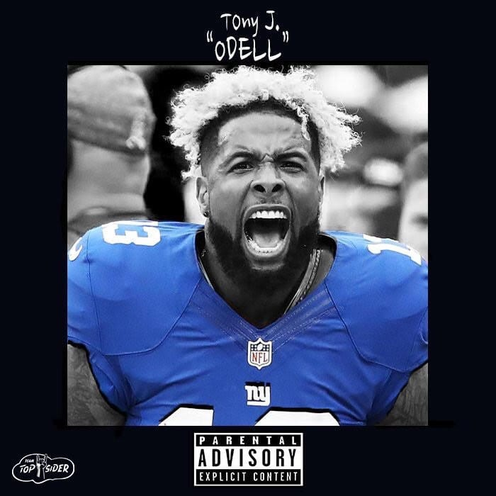 "TonyJ. Drops New Single Inspired By Odell Beckham Of The NY Giants - ""Odell"""
